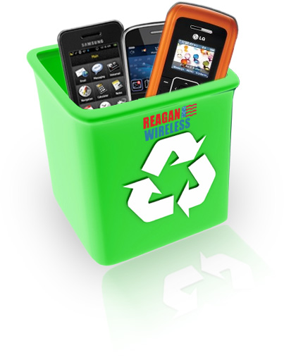 RECYCLE YOUR CELL PHONES