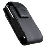 BLACKBERRY TOUR LEATHER CASE WITH BELT CLIP HDW23466-001
