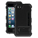 BALLISTIC HARD CORE CASE FOR iPHONE 5 - BLACK