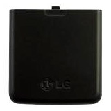 LG LOTUS BLACK BATTERY DOOR