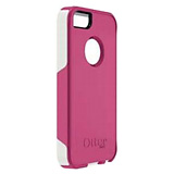 OTTERBOX COMMUTER CASE FOR iPHONE 5 - PINK/WHITE