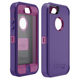 OTTERBOX DEFENDER CASE FOR iPHONE 5 - PURPLE/PINK